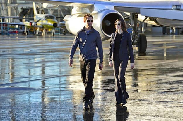 Meghan Ory Josh Holloway Intelligence CBS