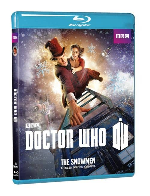 DOCTOR WHO THE SNOWMEN BLURAY