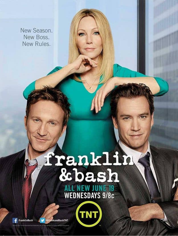 FRANKLIN & BASH Season 3 Poster