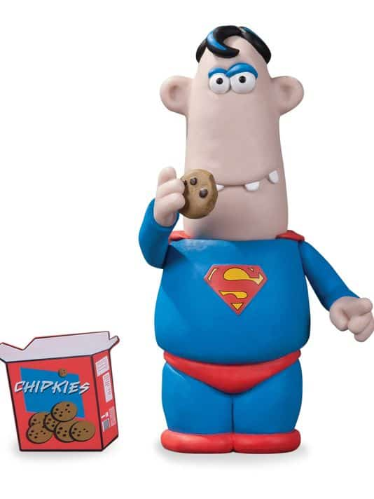 Aardman Superman Action Figure