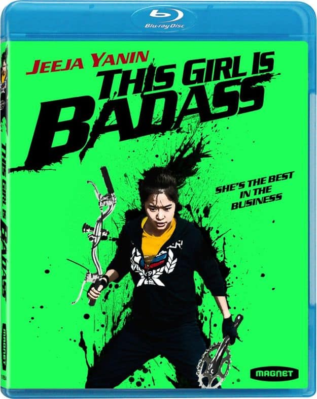 THIS GIRL IS BADASS BLURAY