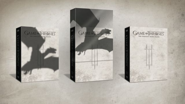 Game Of Thrones Season 3 DVD Bluray