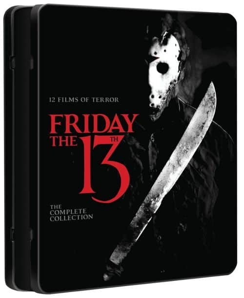 Friday The 13th The Complete Collection Bluray