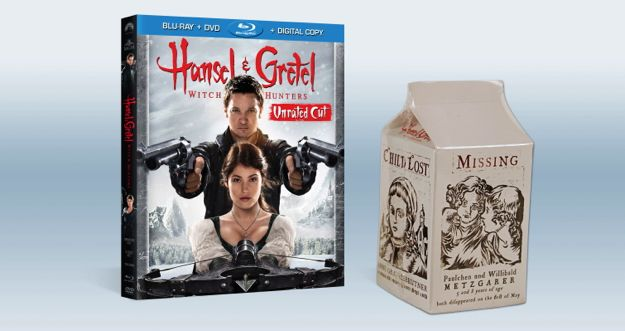 HANSEL And GRETEL WITCH HUNTERS BLURAY