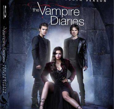 THE VAMPIRE DIARIES Season 4 Bluray