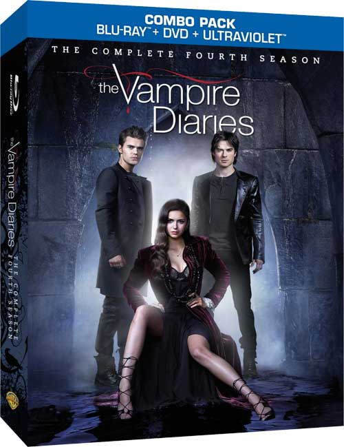 THE VAMPIRE DIARIES Season 4 Bluray