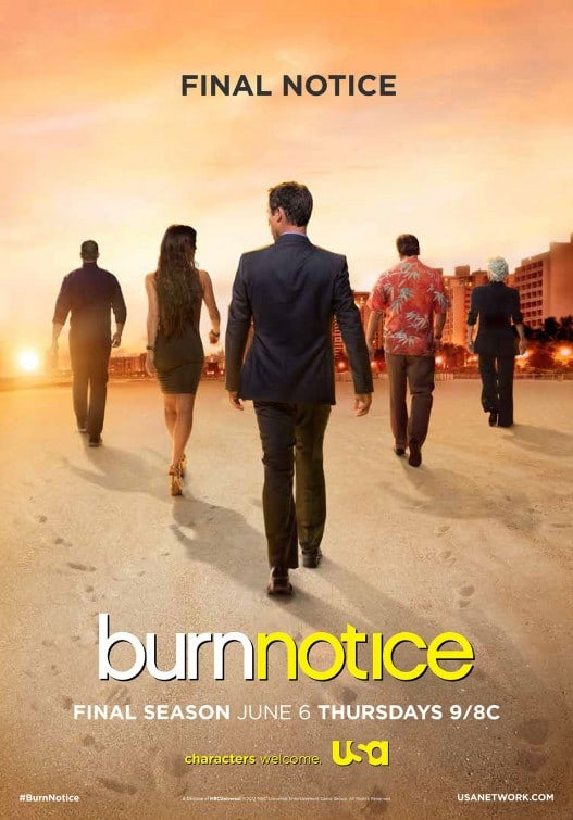 Burn Notice Season 7 Poster