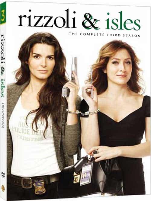 RIZZOLI And ISLES Season 3 DVD