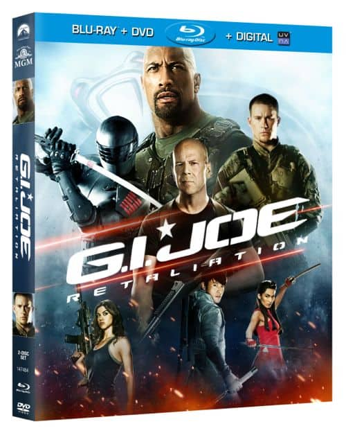 GI JOE RETALIATION BLURAY