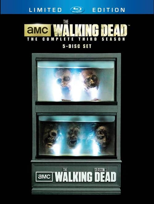 The Walking Dead Season 3 Limited Edition Bluray