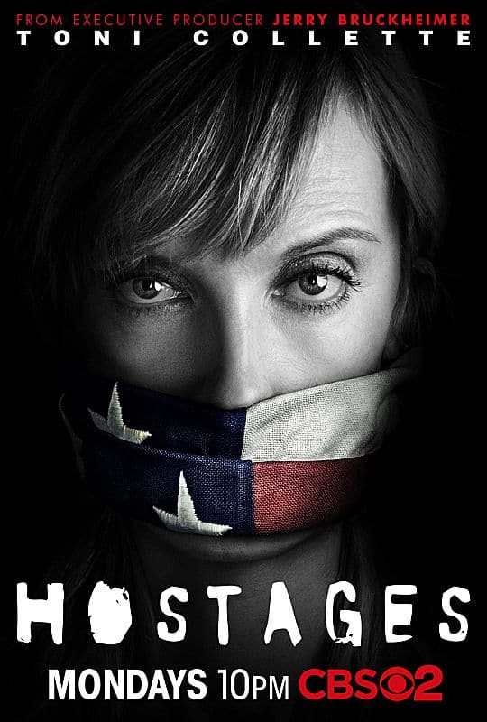 HOSTAGES Toni Collette Poster