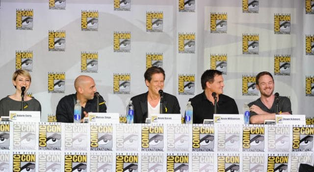 The Following Cast Comic Con 1