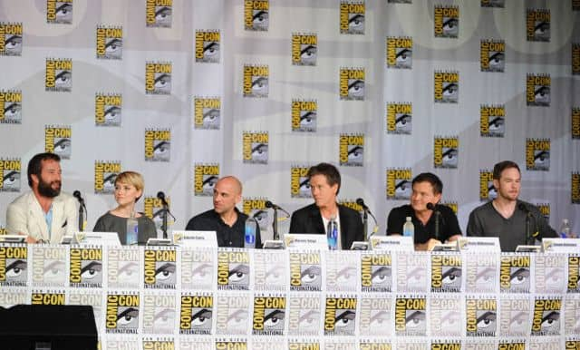 The Following Cast Comic Con 2
