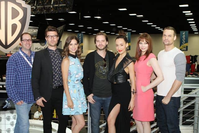 NIKITA Comic Con Craig Silverstein and stars Noah Bean, Lyndsy Fonseca, Aaron Stanford, Maggie Q, Melinda Clarke and Shane West