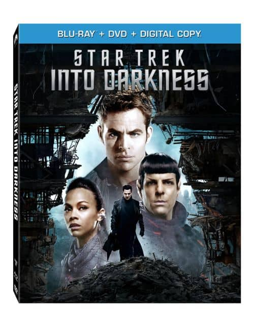 STAR TREK INTO DARKNESS DVD BLURAY