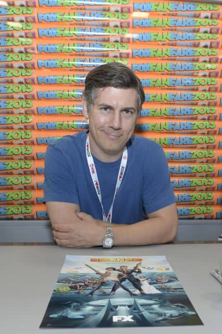 Chris Parnell Archer Comic Con