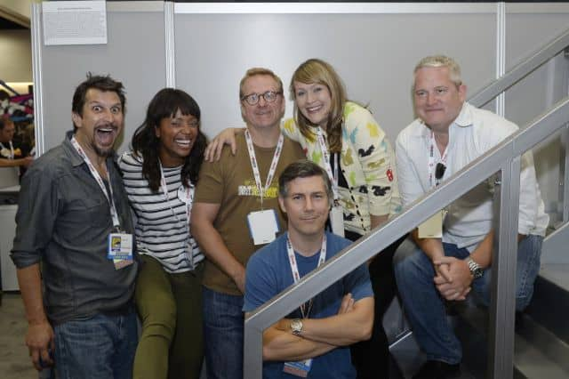 Archer Cast Comic Con 2013