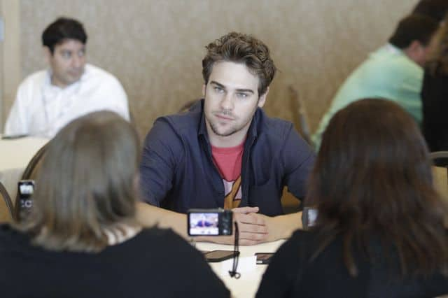 Grey Damon Star Crossed Comic Con