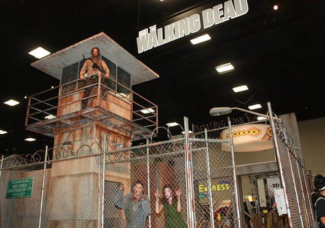 THE WALKING DEAD Comic Con Booth