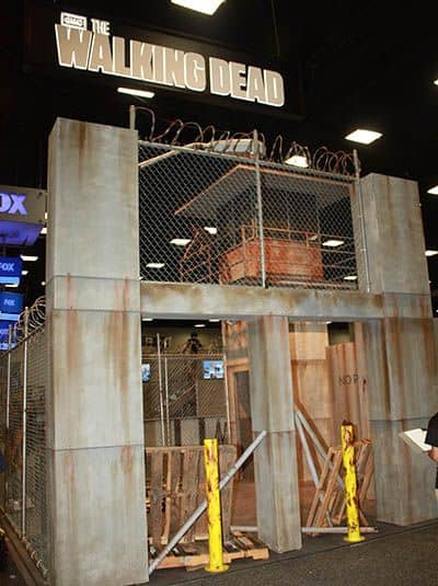 THE WALKING DEAD Comic Con Booth 2