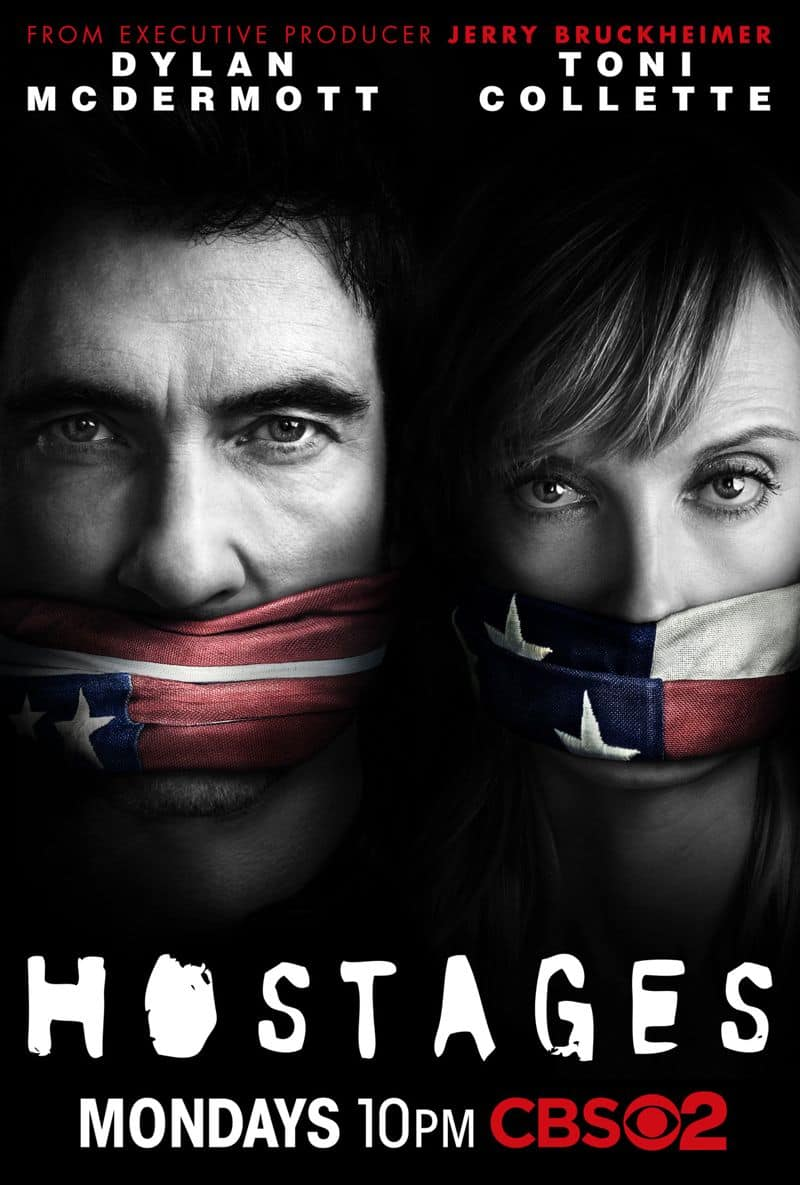 Hostages CBS Poster