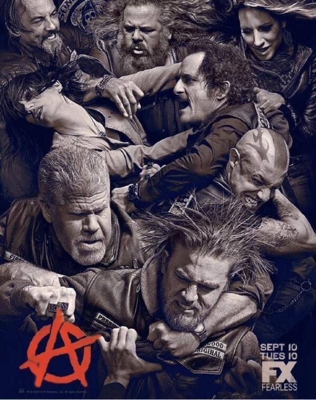 SONS OF ANARCHY Season 6 Poster