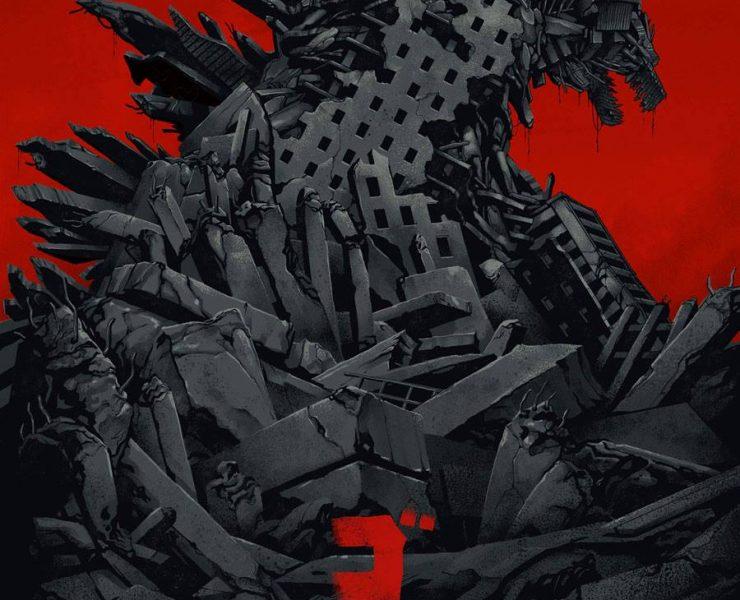 Godzilla Comic Con Poster