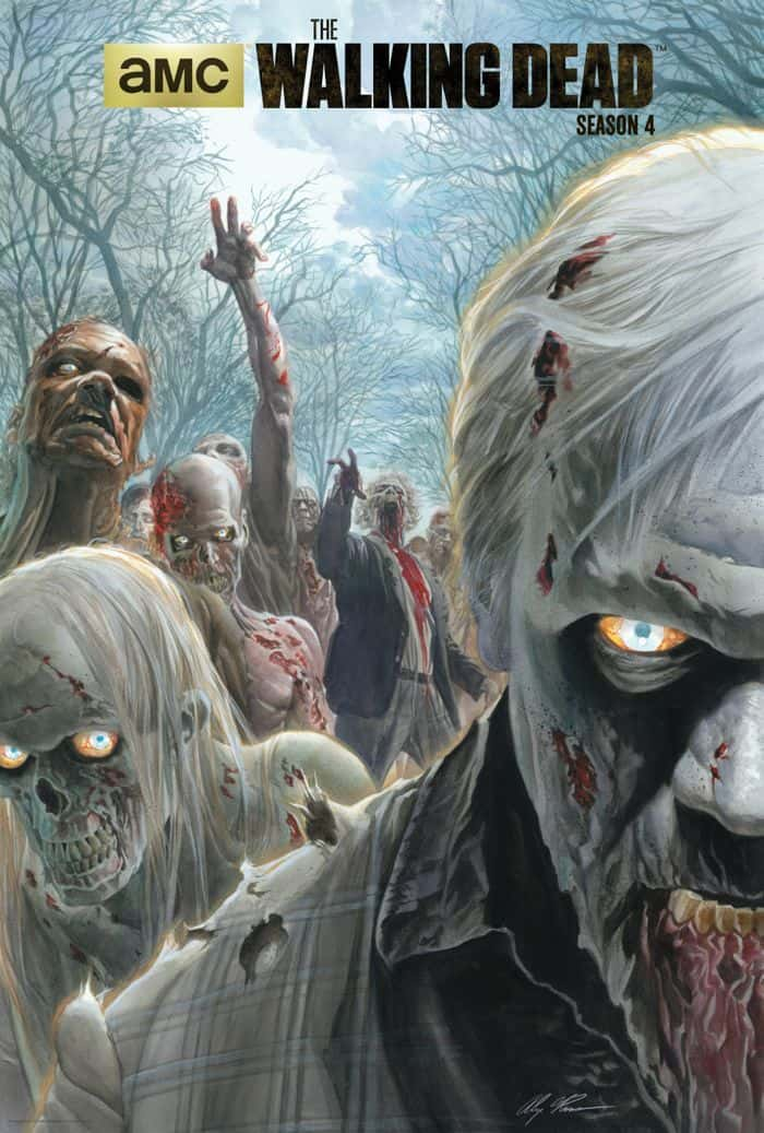 THE WALKING DEAD Alex Ross Comic Con Poster
