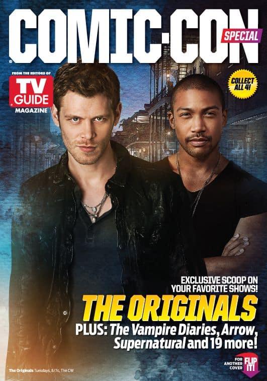 The Originals Comic Con TV Guide Cover