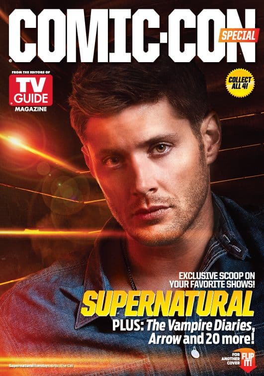 Supernatural Jensen Ackles Comic Con TV Guide Cover