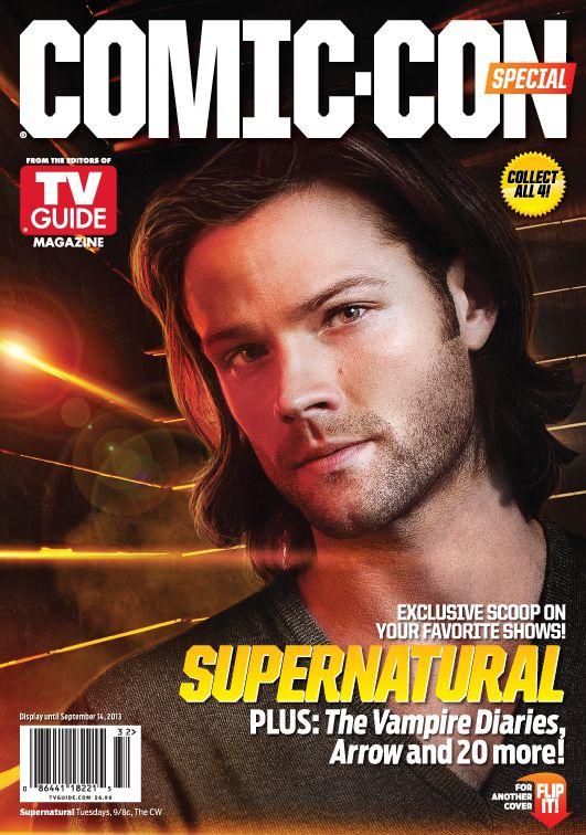 Supernatural Jared Padalecki Comic Con TV Guide Cover