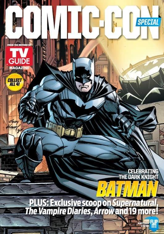 Batman Comic Con TV Guide Cover