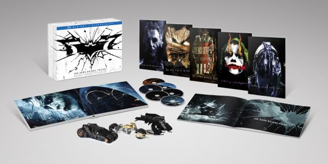THE DARK KNIGHT TRILOGY ULTIMATE COLLECTORS EDITION BLURAY