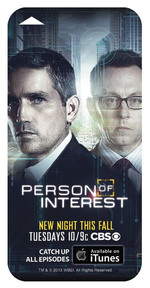PERSON OF INTEREST Comic Con Hotel Key Card