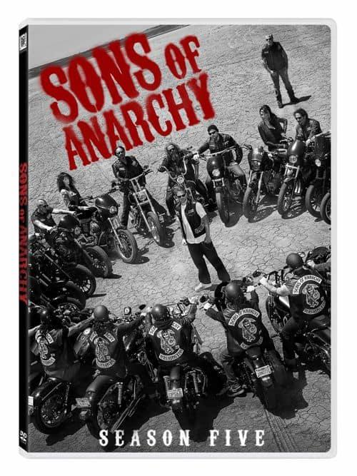 Sons Of Anarchy Season 5 DVD