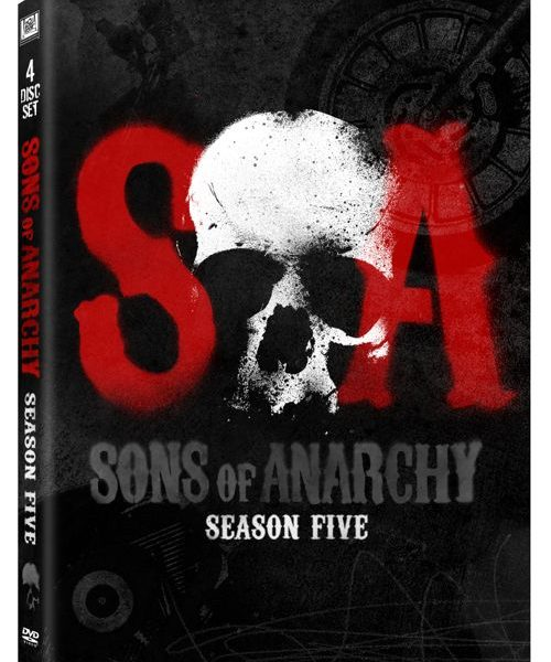 Sons Of Anarchy Season 5 DVD Cover