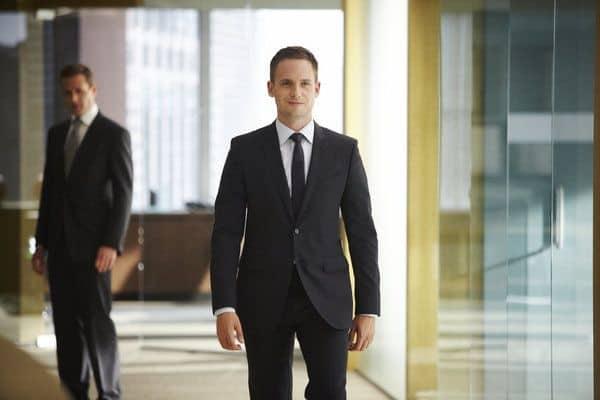 Gabriel Macht as Harvey Specter, Patrick J. Adams as Michael Ross Suits - Season 3