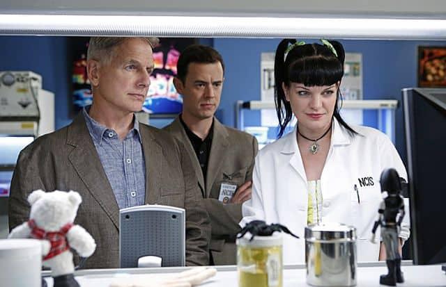 Mark Harmon Colin Hanks Pauley Perrette NCIS Whiskey Tango Foxtrot