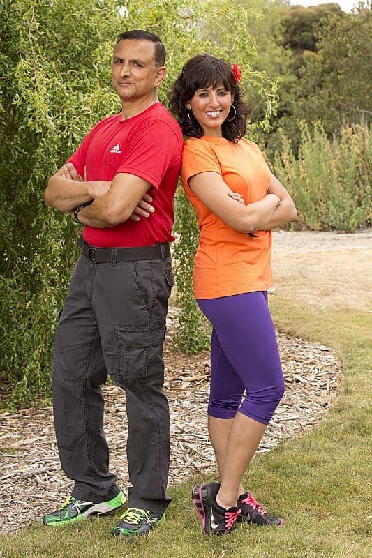 Hoskote and Naina Venkatesh The Amazing Race