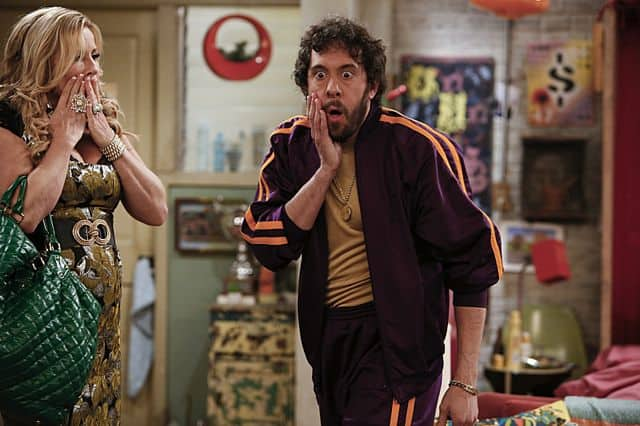 Sophie (Jennifer Coolidge) Oleg (Jonathan Kite) 2 Broke Girls