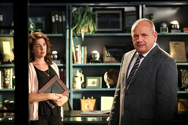 Nancy Brass Annabella Sciorra Captain Jim Brass Paul Guilfoyle CSI
