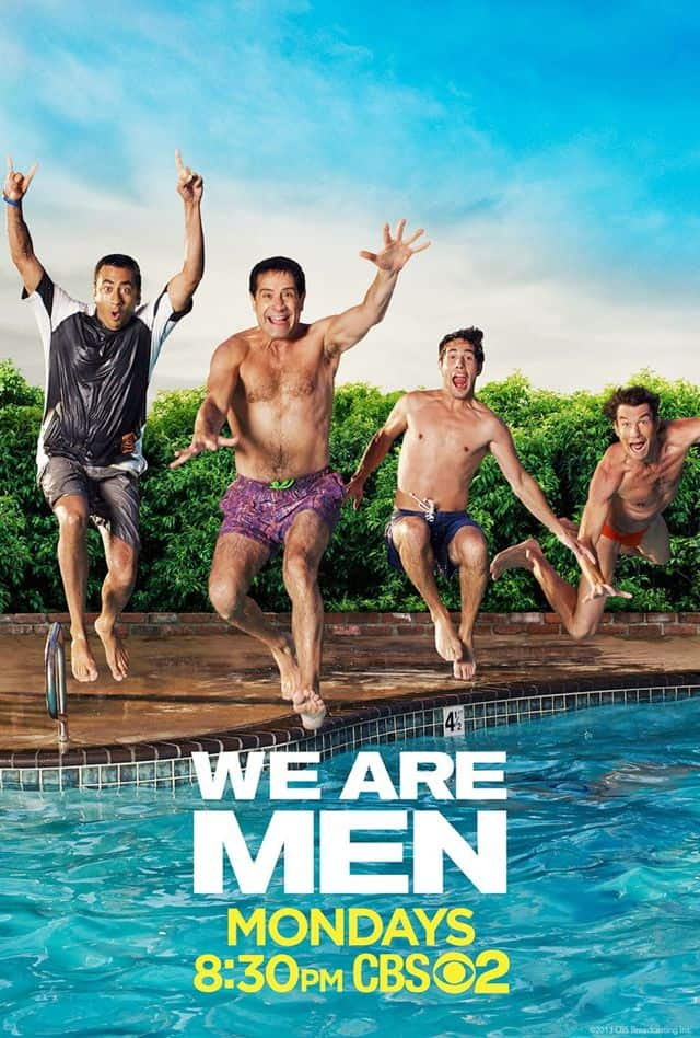 We Are Men Poster CBS
