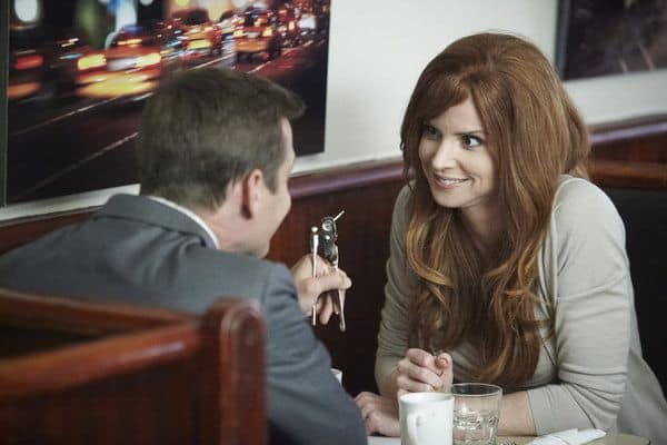 Suits Gabriel Macht as Harvey Specter, Sarah Rafferty as Donna Paulsen