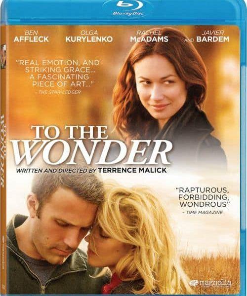 To The Wonder Bluray