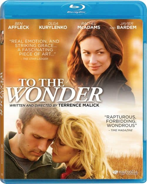 To The Wonder Bluray