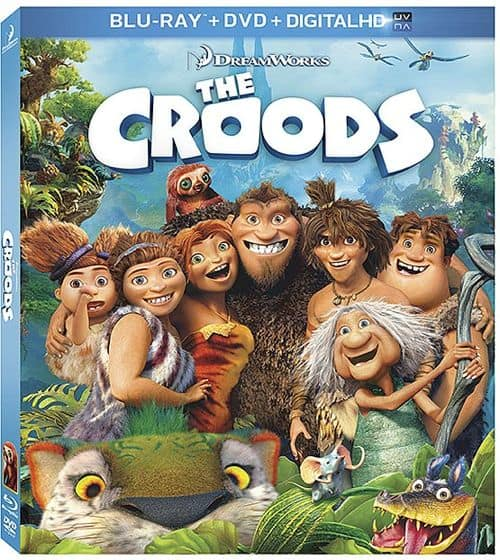 The Croods Bluray DVD