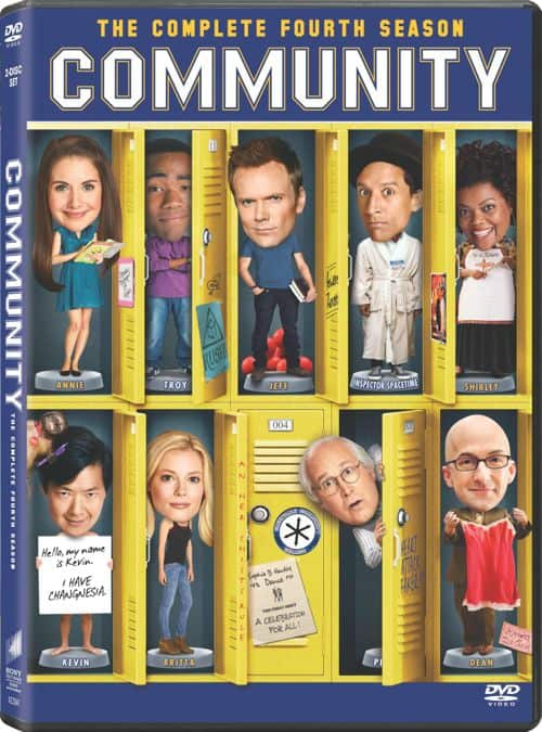 Community Season 4 DVD