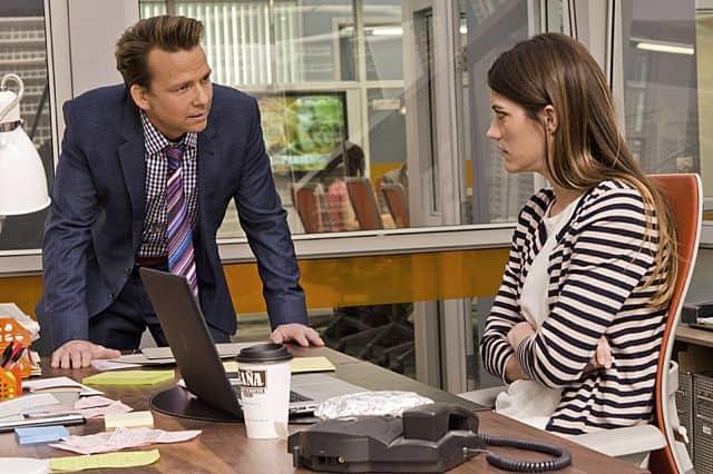 Sean Patrick Flanery as Jacob Elroy and Jennifer Carpenter as Debra Morgan in Dexter