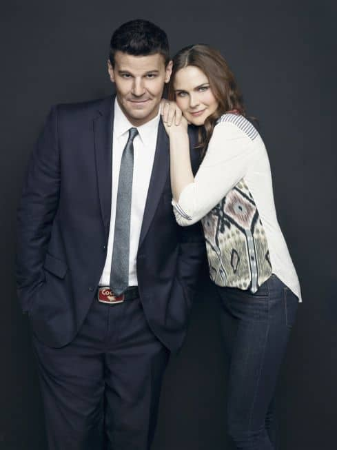 Bones Emily Deschanel David Boreanaz