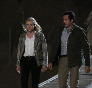 Diane Kruger as Sonya Cross, Demian Bechir as Marco Ruiz The Bridge